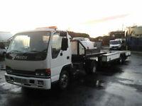 Isuzu NPR Mini Artic / Tractor unit manual gearbox 28ft trailer **ex counci**