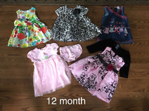 Baby Girl - 12 month clothes