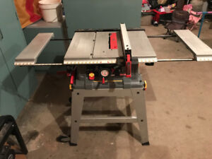 10 in Craftsman table saw