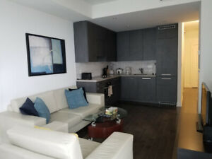 July: Spacious furnished suite next to Union, Yonge and Front