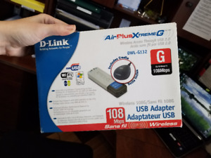 D-Link Wireless 108G USB Adapter Airplus Xtreme G