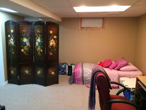 Basement Available Near Conestoga College and 401