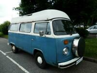 Volkswagen, VW T2, Project/Refurbishment Camper For Sale