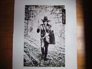 Jean Leloup - grande Affiche Promo édition ltée - 92X61 cm
