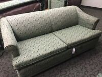 Double pullout sofa bed