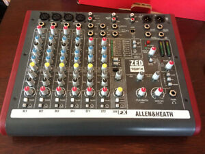 A&H, ZED 10FX Compact Professional Stereo Mixer (Like New)