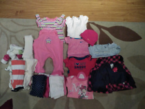 Baby girls clothes clothing 0m - 3m (very cheap)