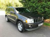 2005 (55) JEEP GRAND CHEROKEE 3.0 CRD V6 LIMITED AUTOMATIC 4X4 TURBO DIESEL