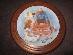 "Sandra Kuck ""Grandpa & the Doll House"" - Framed - $35.00 Kitchener / Waterloo Kitchener Area image 1"