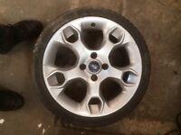 Ford Fiesta rs sti zetec s alloys