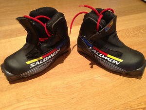 Size 13 Kid's Cross Country Ski Boots