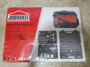 Jobmate Socket and Tool Set, 304 pc.