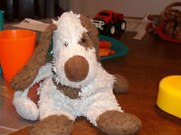 "Old stuffy (""Jellycat"" dog)"