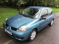 2007 Renault Clio 1.2 8v March 2019 mot 1 lady owner exceptional car