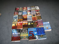 James Patterson books $2 each soft and hard covers