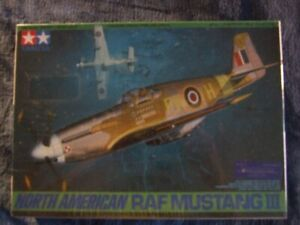 Modèle à coller P-51 Mustang III RAF , Tamiya 1:48