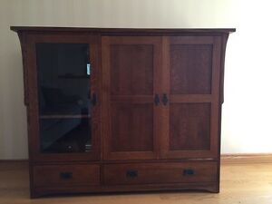 TV/stereo cabinet- REDUCED to $100.00