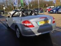 2007 MERCEDES BENZ SLK 200K 2dr Tip Auto