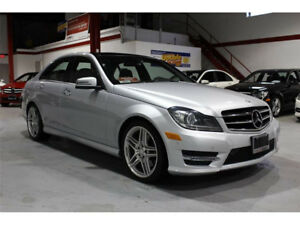 2014 Mercedes Benz C350 4Matic Silver