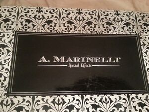A. Marinelli Black kitty heels shoes