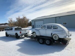 CUSTOM HAULING MOVING OPEN ENCLOSED TRAILERS GREAT RATES