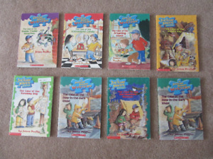 Jigsaw Jones Mystery Children's Books.