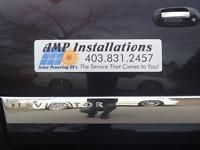 Mobile RV Solar Installation, Amp RV  Solar Installations