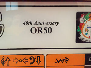 ORANGE OR50 40th Anniversary Head