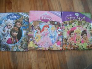 3 princess search and find books
