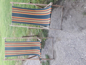 Old l960 lawn chairs