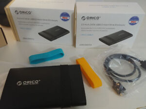 "ORICO 2.5""; Tool Free USB3.0 Hard Drive Enclosure (2538U3) (new)"