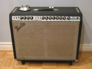 Vintage Fender Silverface Twin Reverb