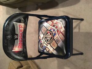 WWE Ringsider Collectable Wrestling Chair