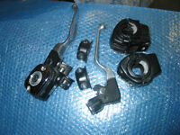 Harley touring hand controls switch housing covers levers