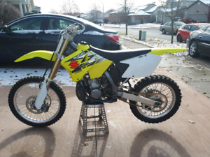 Wanted ...2007 or 2008 rm 250