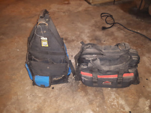 Two tool bags for sale.