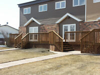FOR RENT 3 BEDROOM TOWNHOUSE IN YORKTON SK