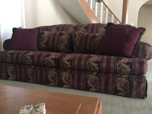 Hide a bed couch & Love seat