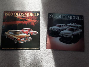 Oldsmobile Dealer Brochures 80s 90s