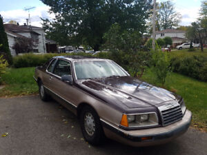 Ford Thunderbird 1986 Mint condition