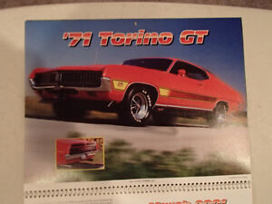 New 2001 MEMORABLE MUSCLE CARS 12 Month CALENDAR. Issued by APC. Sarnia Sarnia Area image 4