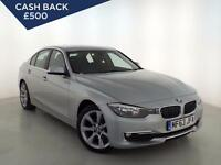 2013 BMW 3 SERIES 318d Luxury Step Auto Sat Nav GBP3,185 Of Extras