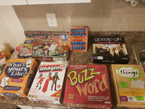 11 board games for sale!