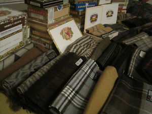 CIGAR BOX SCARVES - IDEAL XMAS GIFT