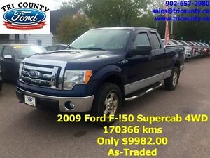 2009 Ford F150 XLT Supercab 4WD