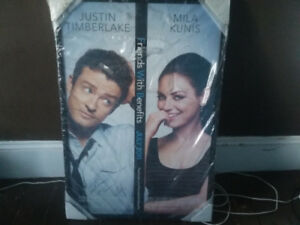Authentic Autographed photo of Justin Timberlake and Mila Kunis