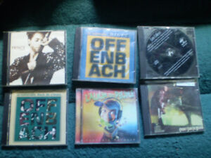 cd offenbach/stevie ray vaughan/les colocs/prince/perusse