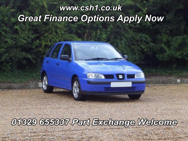 2001 seat ibiza 1 4 s in fareham hampshire gumtree. Black Bedroom Furniture Sets. Home Design Ideas