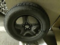BF Goodrich winter tires with rims