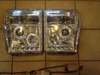 2008-2010 F-350 RECON HID Projector Headlights
